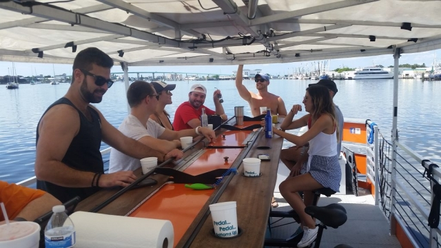 Fort Lauderdale Boat Tours Lagerhead Cycleboats